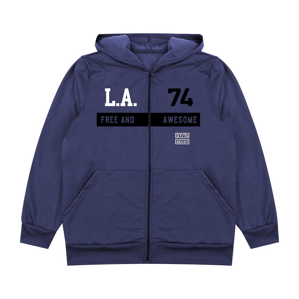 Jaqueta Decoy Plus Adulto Masculino L.A. Azul