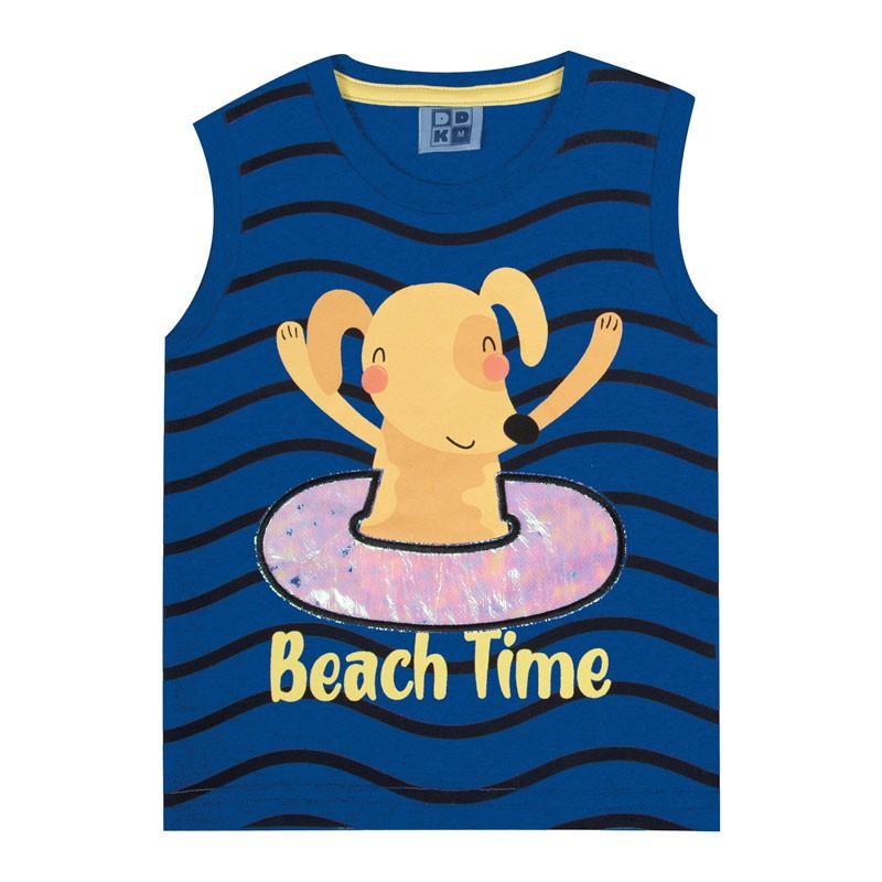 Machão DDK Bebê Menino Beach Time Azul