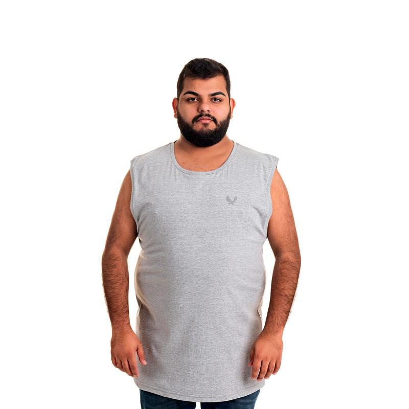 Machão Decoy Adulto Masculino Básica Cinza