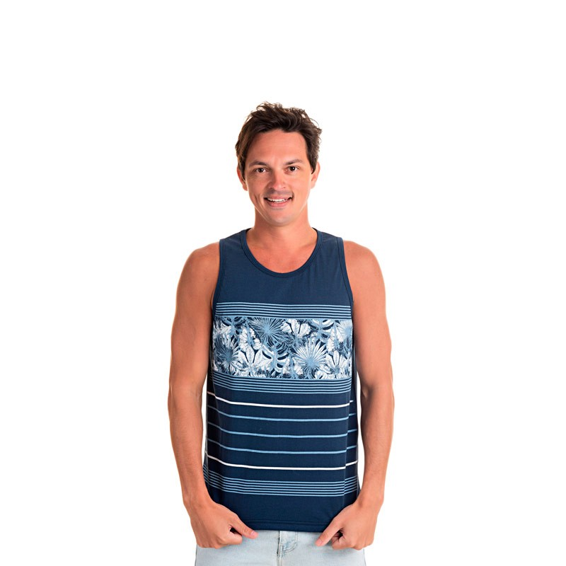 Regata Decoy Adulto Masculino Tropical Azul