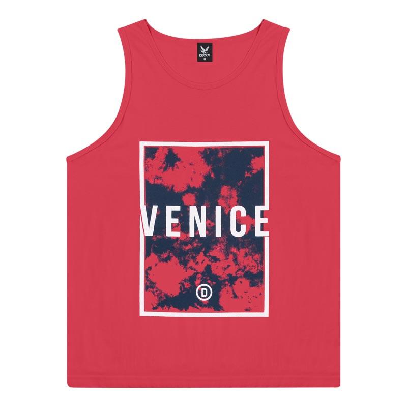 Regata Decoy Adulto Masculino Venice Vermelho