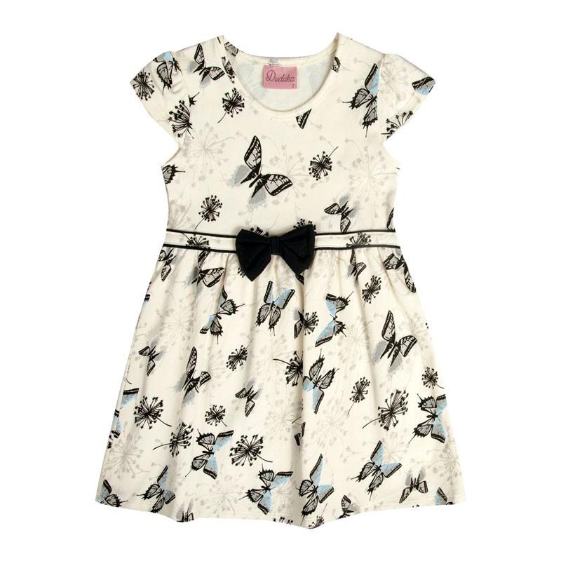 Vestido Bebê Menina Borboleta Preto