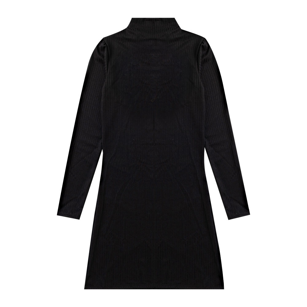 Vestido Cobertura Juvenil/Adulto Feminina Liso Preto