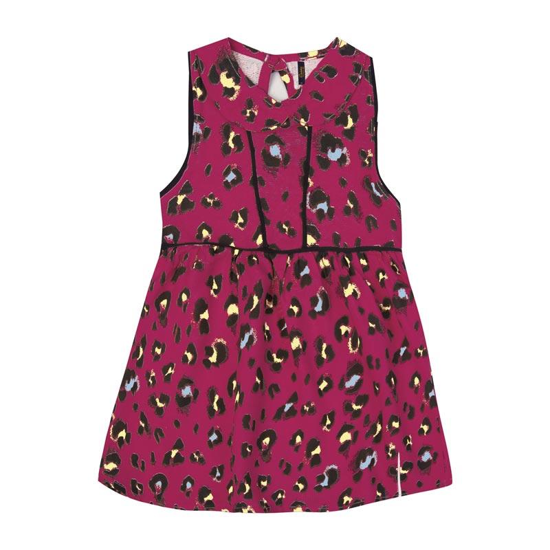 Vestido Duduka Infantil Menina Oncinha Rosa