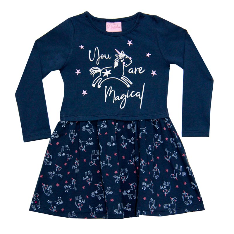 Vestido Infantil Magical - Duduka