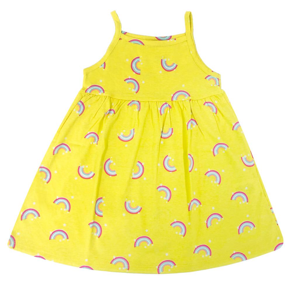 Vestido Infantil Arco-Íris - Luka Puka