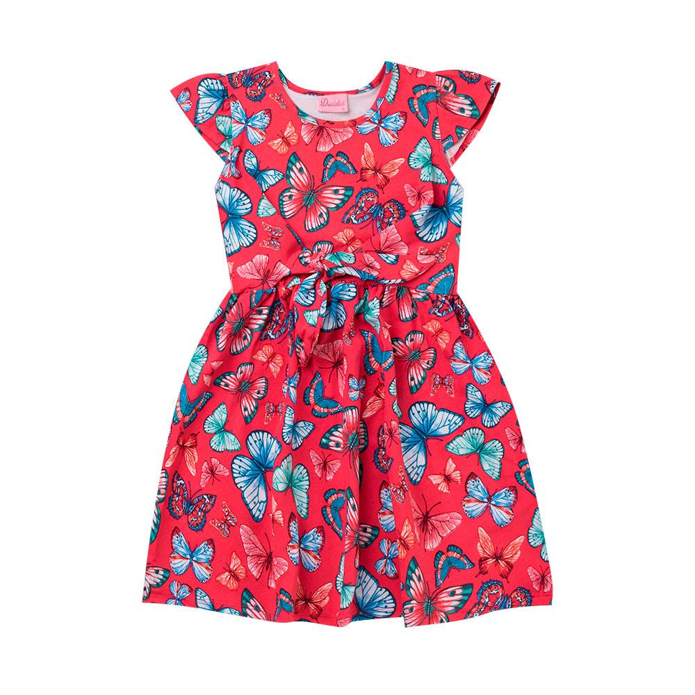 Vestido Menina Primavera - Duduka