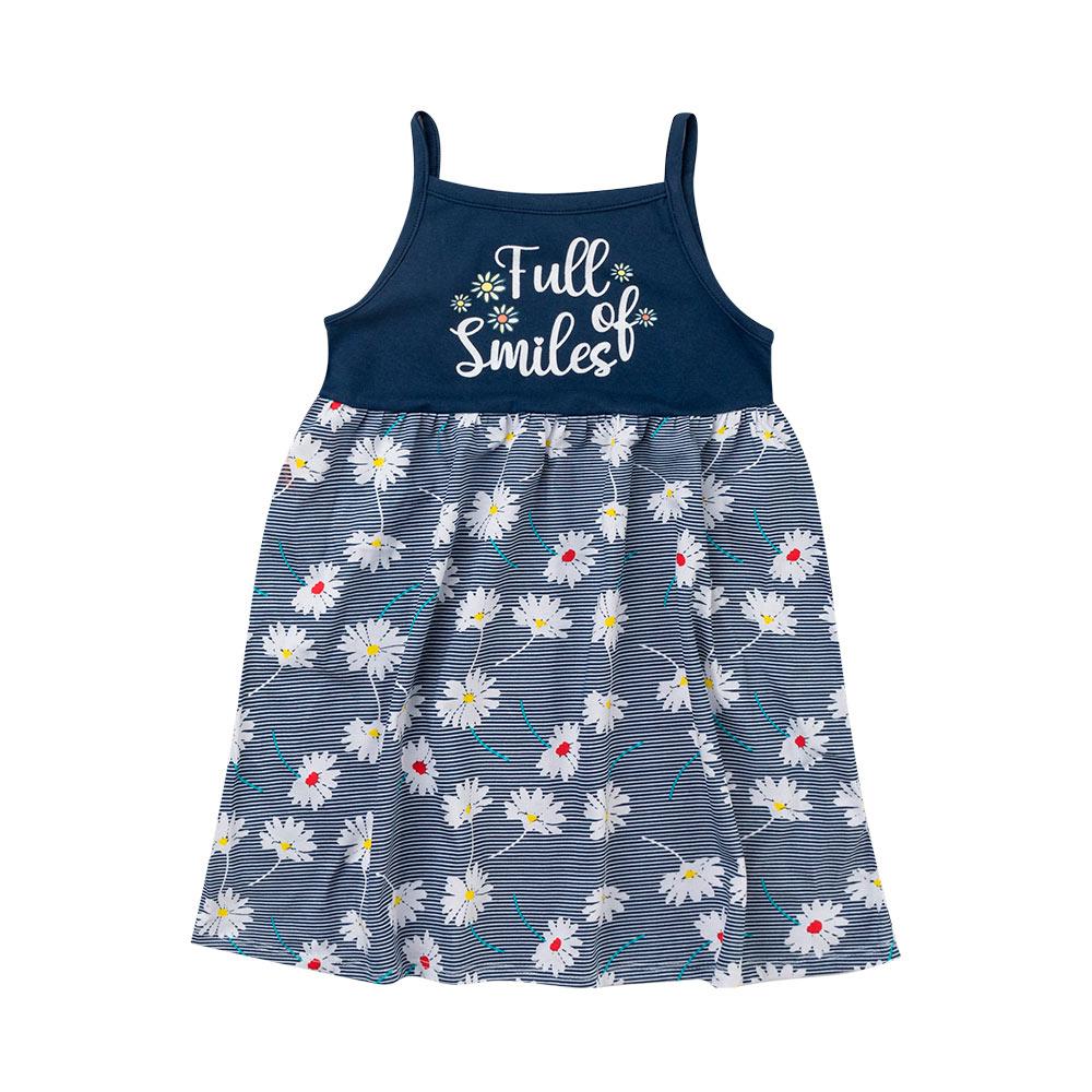Vestido Menina Smiles - Duduka