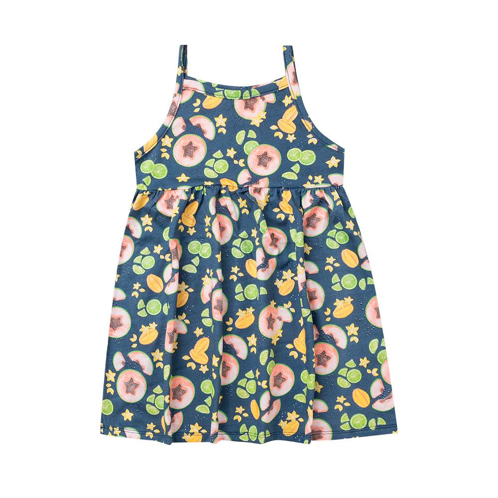 Vestido Menina Tropical - Duduka