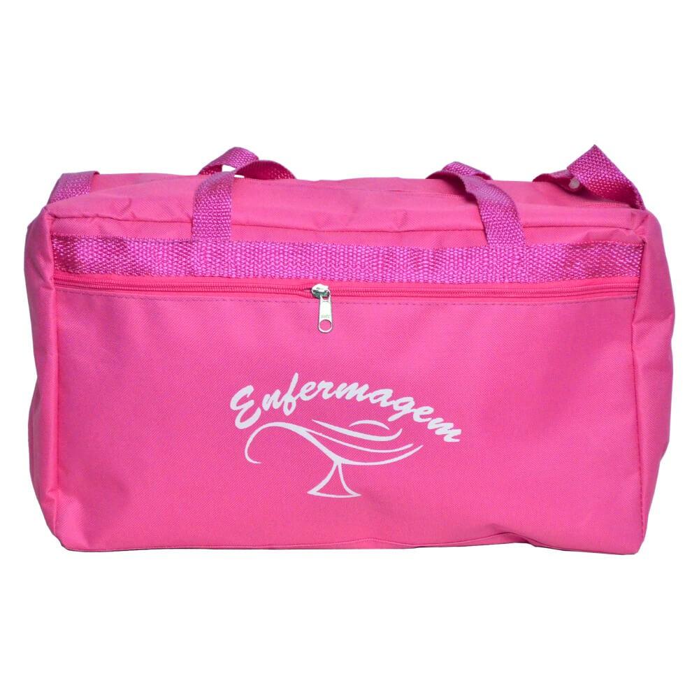 Bolsa da enfermagem modelo pasta - Pink