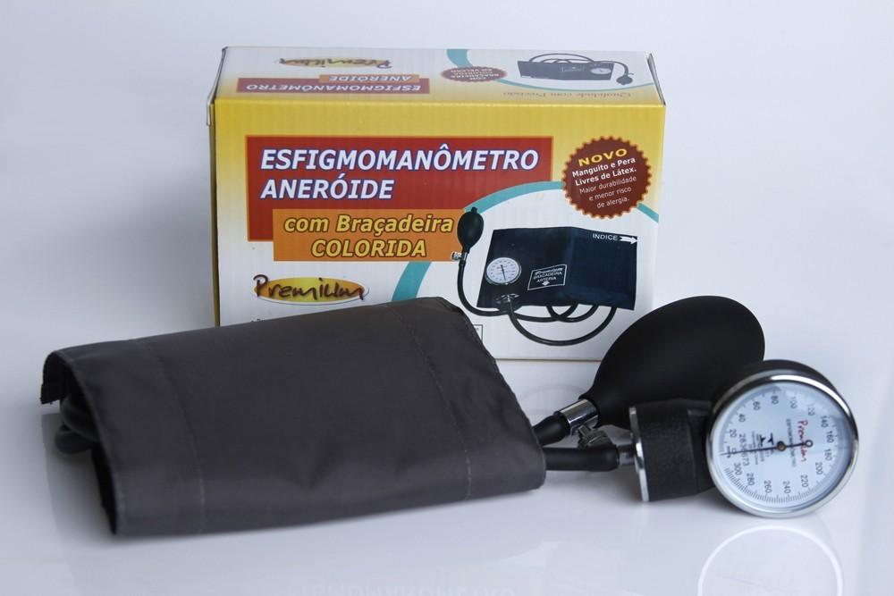 Esfigmomanômetro aneróide Premium grafite