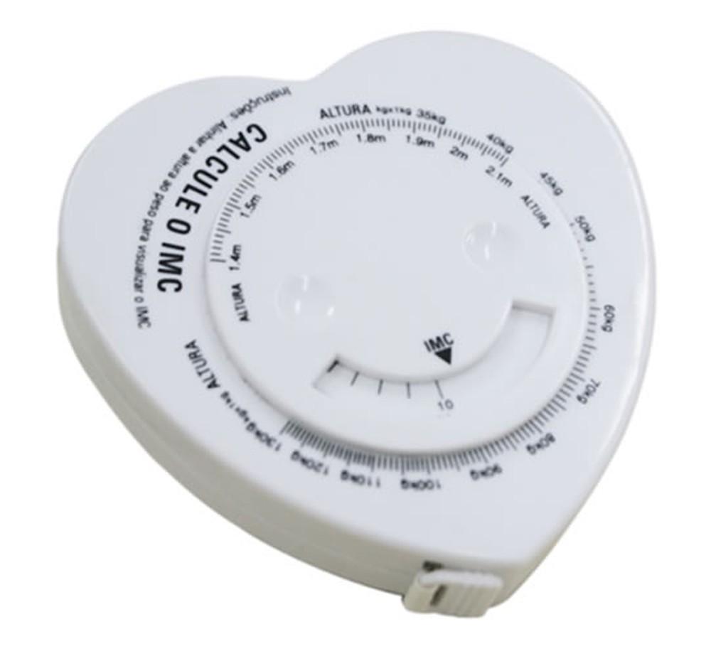 Fita métrica para calcular o imc