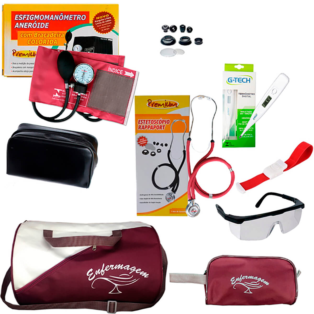 Kit Academico de Enfermagem Broonell