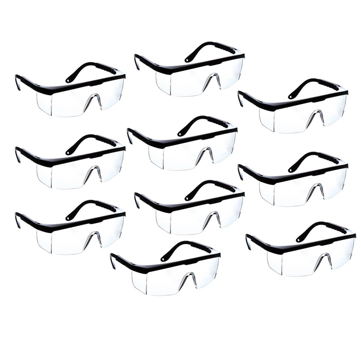 kit com 10 Óculos de segurança