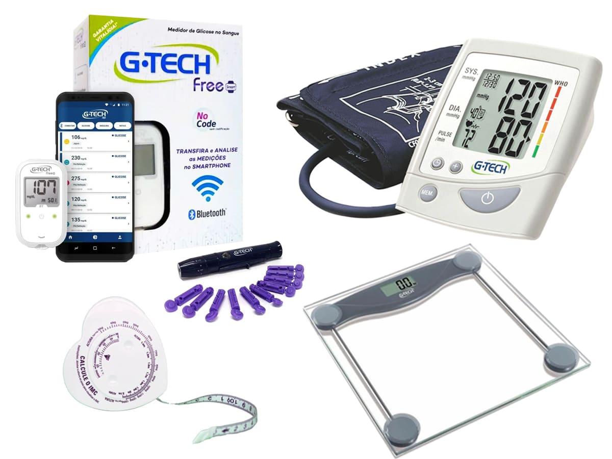 Kit Controle e Cuidados para Obesos