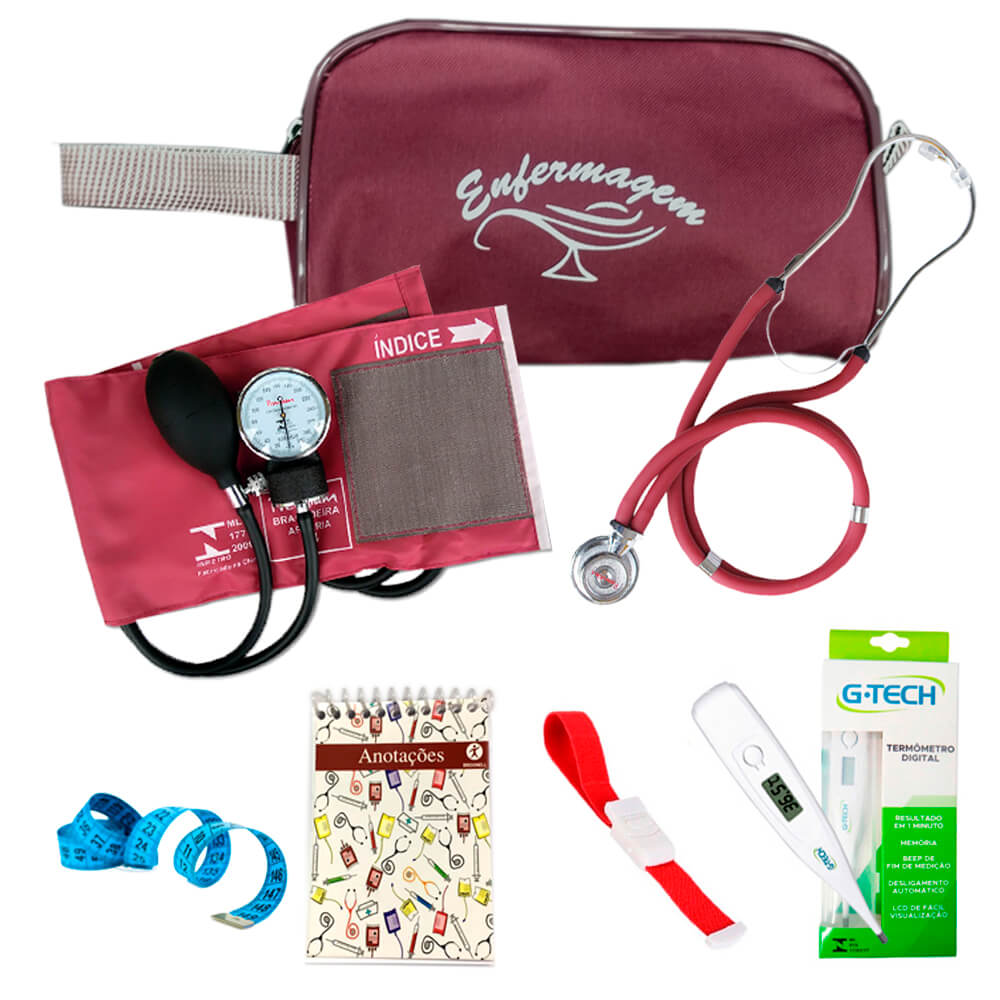 Kit de enfermagem Premium Ref.14 Broonell