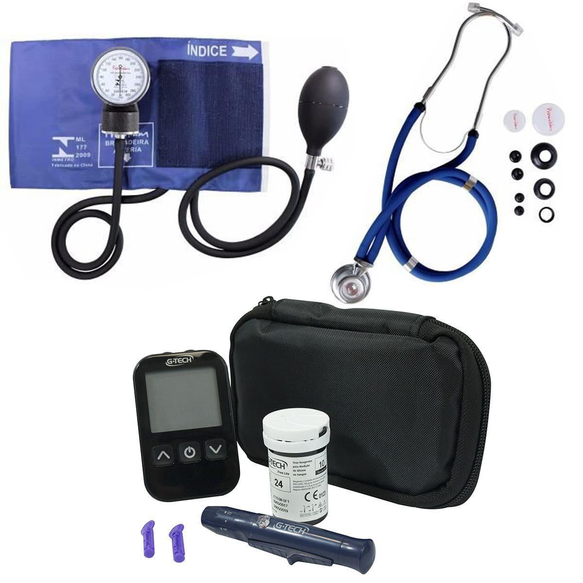 Kit de Fisioterapia Acadêmico