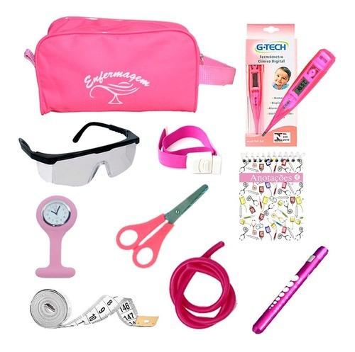 Kit Material De Bolso Para Enfermagem Completo