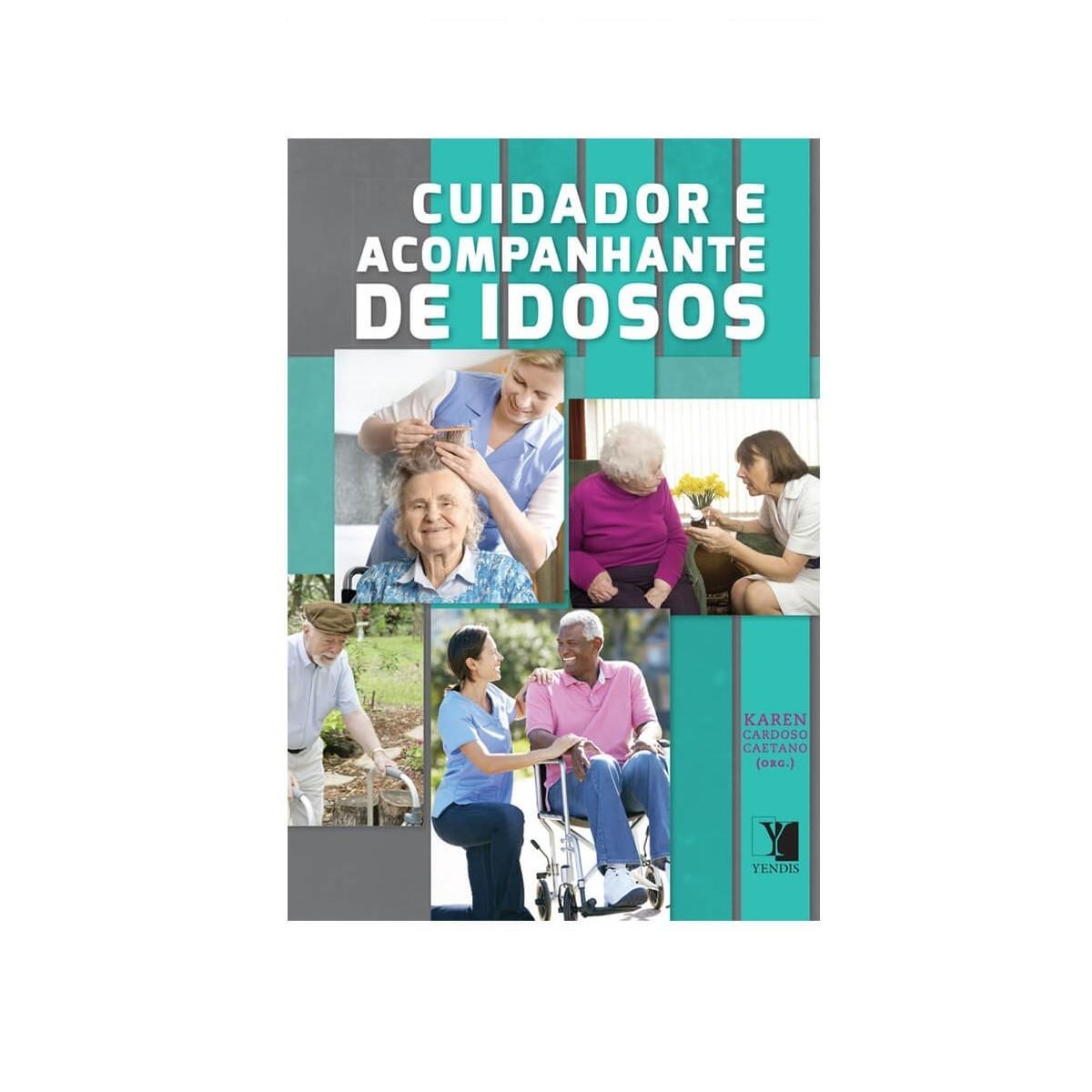 Livro - Cuidador e acompanhante de idosos