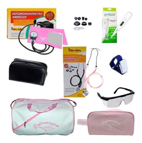 Materiais Para Enfermagem Com Garrote - 7 Itens - Top