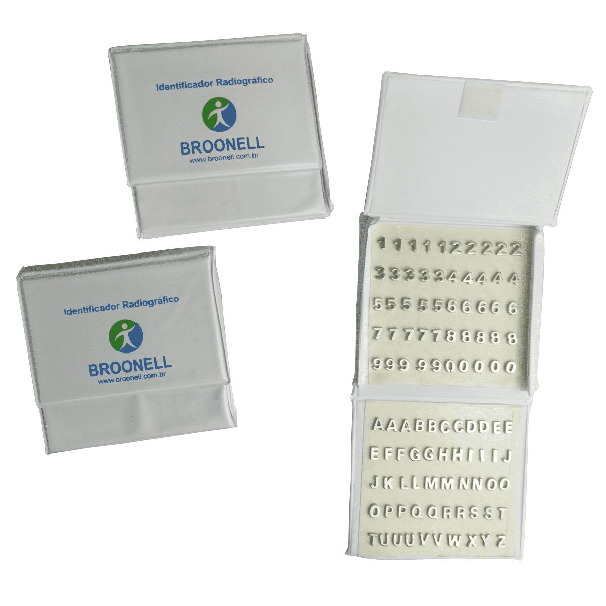 Numerador para radiologia alfanumérico