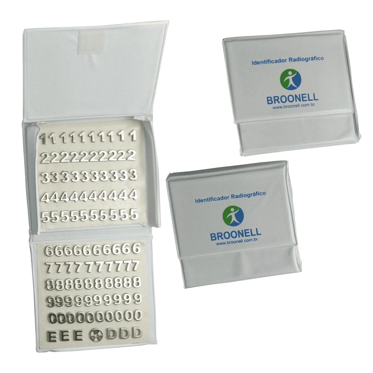 Numerador para radiologia niquelado 9mm