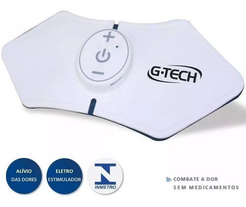 Tens Portátil Recarregável Eletroestimulador Alíviojá G-tech