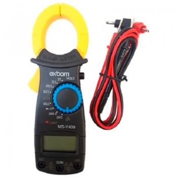 Alicate Amperimetro Profissional Digital 600v Exbom Md-y400