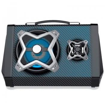 Caixa De Som Amplificada Bluetooth Multilaser 120w Led - SP314
