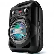 Caixa De Som Amplificada Bluetooth Multilaser Sp255 50w Karaokê