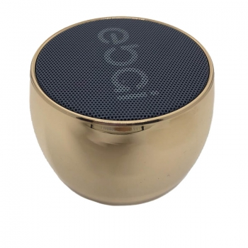 Caixa de Som Bluetooth Ebai Fzf-19yx6 Dourada