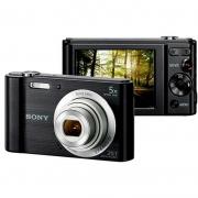 Camera Digital Sony 20mp Visor 2.7 Dsc-W800/B Zooxm Optico 5x Zoom Digital 10x