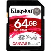 Cartão De Memória 64gb Kingston Sdg/64 Cl10