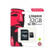 Cartão De Memória Micro Sd Card 32gb Kingston Sdcs/32gb Cl10