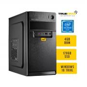 Computador Desktop True Data Intel Celeron 2.6ghz G550 Dual Core 4gb Ssd 120gb Win10 Trial