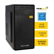 Computador Desktop True Data Intel Celeron Dual Core 2.48ghz 4gb Hd 320gb Win10 Trial