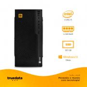 Computador Desktop Truedata Intel Core I5-2300 2.8ghz 4gb Ssd 120gb Win 10 Trial C/ Fonte Real 350w