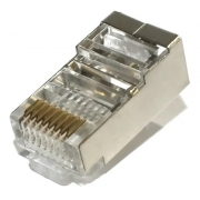 Conector Macho Blindado Rj45 Cat6 Mt6003-6bx