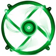 Cooler Fan para Gabinete NZXT Led 200mm Green Fz-200 - RF-FZ20S-G1