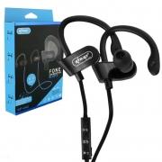 Fone de Ouvido Bluetooth Sport com Microfone Knup KP-442