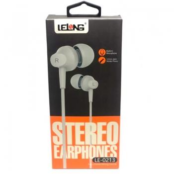 Fone De Ouvido C/Microfone Lelong Le-0213 Branco