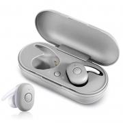 Fone de Ouvido Headphone Bluetooth Tws Dt1 Prata
