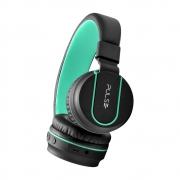 Fone De Ouvido Headphone Pulse Bluetooth Preto E Verde Ph215
