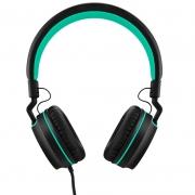 Fone De Ouvido Headphone Pulse P2 Preto E Verde Ph159