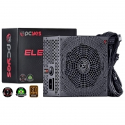 Fonte Real 550w Electro V2 Series PC Yes 80 Plus Pfc Ativo - ELECV2PTO550W