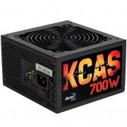 Fonte Real 700w Aerocool Kcas En53381