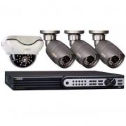 Gravador De Imagem Digital Q-See Qt718 8 Canais Digital Alta Definição 15fps 1080p S/ Hd