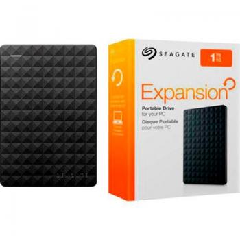Hd Externo 2.5 Pols 1tb Seagate Expansion Usb 3.0 Preto - Stea1000400