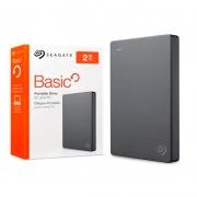 Hd Externo 2.5 Pols 2tb Seagate Basic Usb 3.0 - STJL2000400