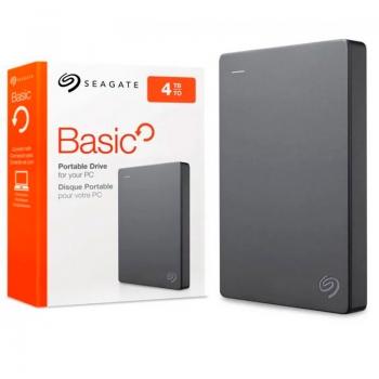 Hd Externo 2.5 Pols 4tb Seagate Basic Usb 3.0 - STJL4000400